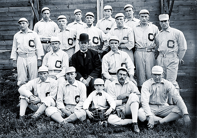 1901 chicago white stockings team picture