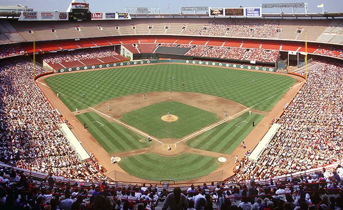 Angel Stadium after 1979 expansion