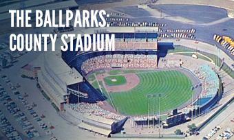 County Stadium Aerial