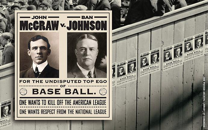 McGraw vs. Johnson Poster