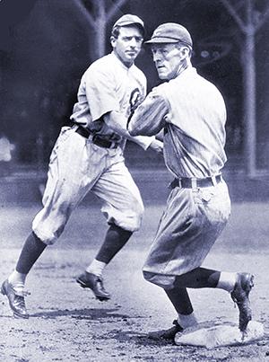 Joe Tinker and Johnny Evers