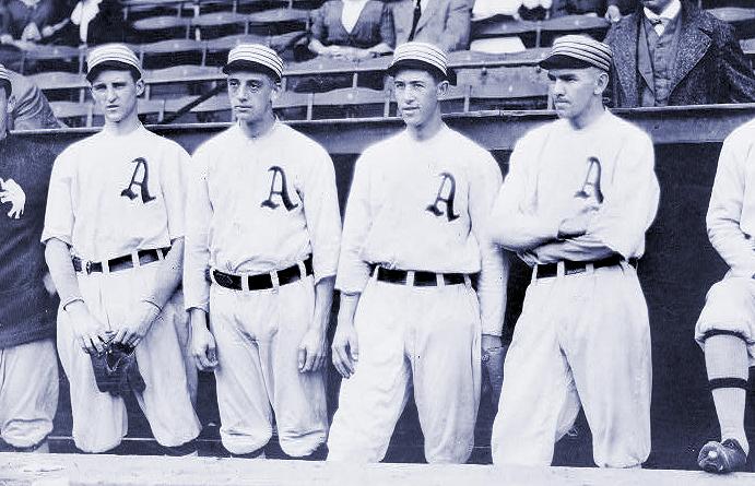 Philadelphia A's pitchers, 1915