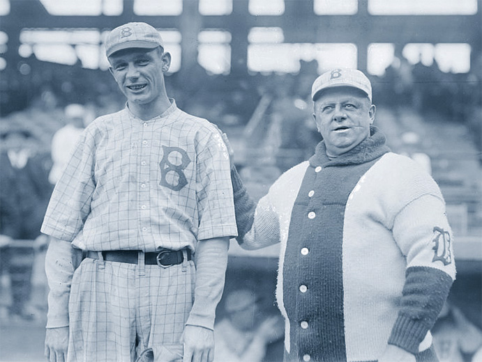 Rube Marquard and Wilbert Robinson