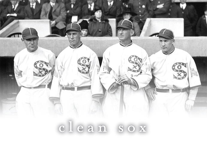 Members of the 1917 Chicago White Sox
