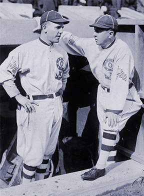 Eddie Cicotte and Pants Rowland