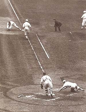 1917 World Series action