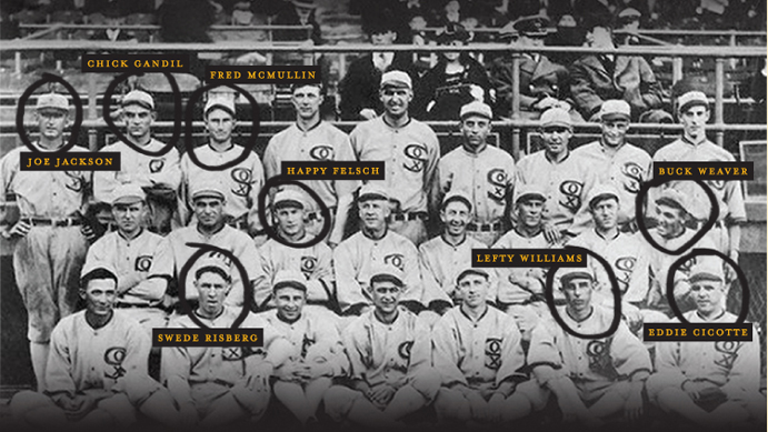 Team Photo of 1919 Chicago White Sox