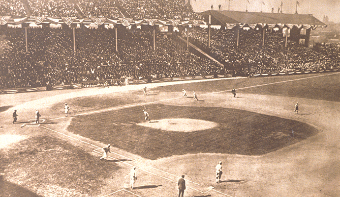Chick Gandil base hit, 1919 World Series