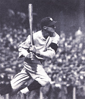 Goose Goslin homers in the 1925 World Series