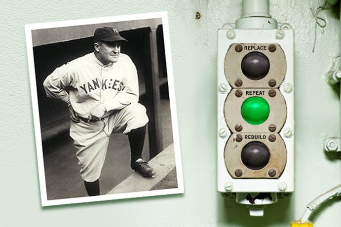 Yankees manager Joe McCarthy