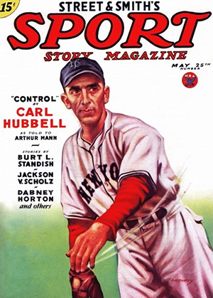 Carl Hubbell Magazine Cover
