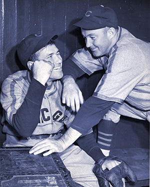 Dizzy Dean and Gabby Hartnett