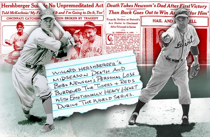 Willard Hershberger and Bobo Newsom