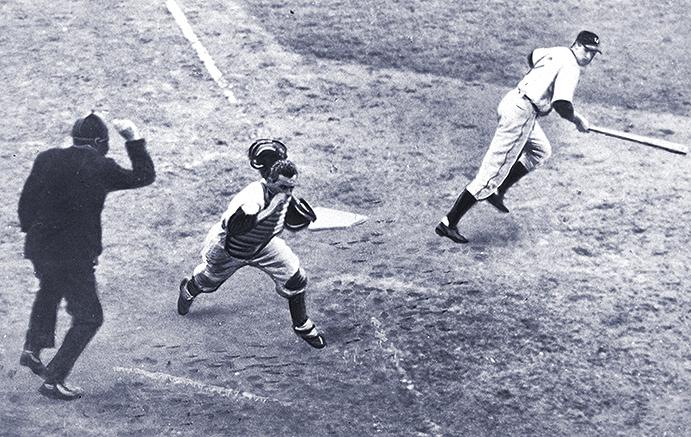 Mickey Owen's passed ball in 1941 World Series