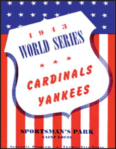 1943 World Series program cover