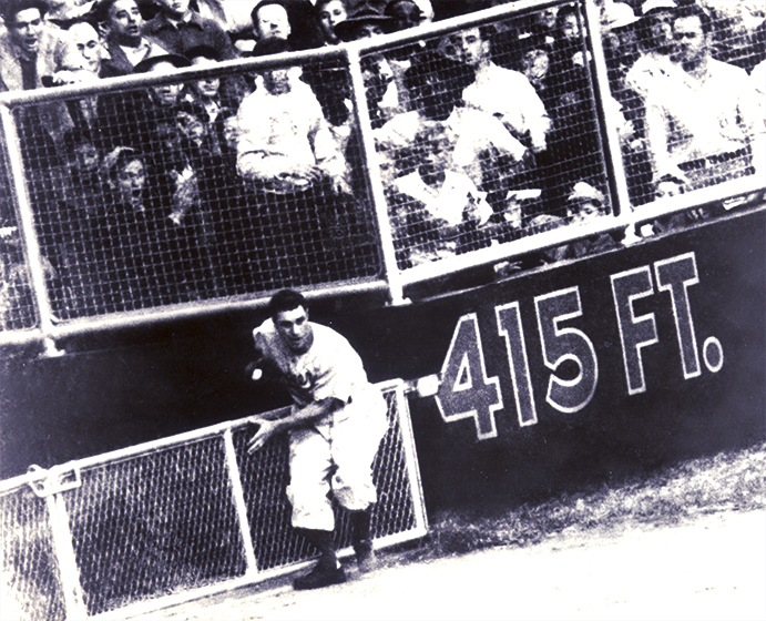 Al Gionfriddo's catch in the 1947 World Series