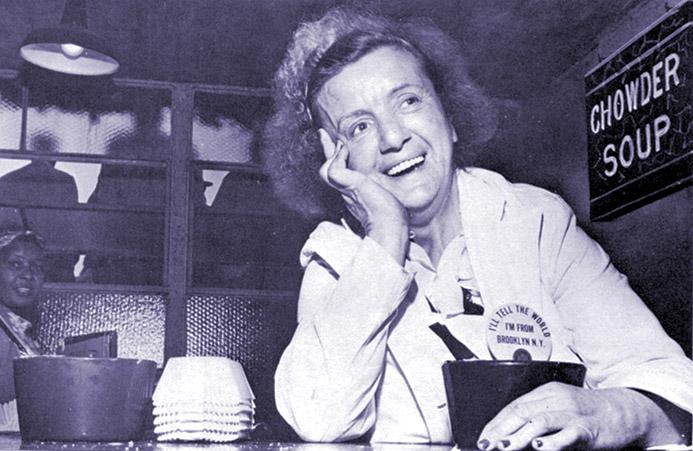 Brooklyn Dodgers superfan Hilda Chester