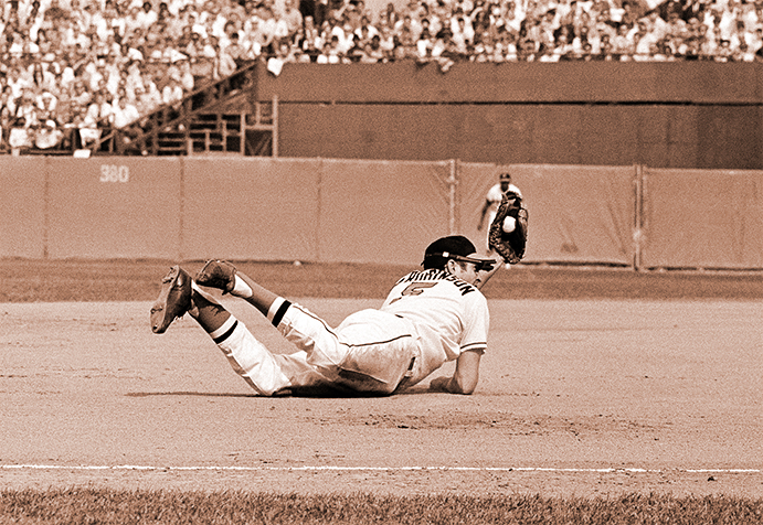 Brooks Robinson in the 1970 World Series