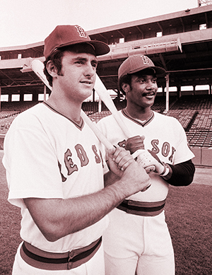 Fred Lynn and Jim Rice