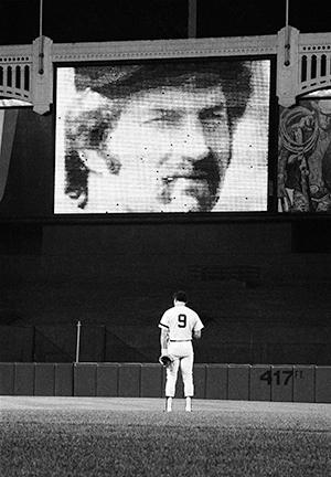 Thurman Munson Tribute at Yankee Stadium