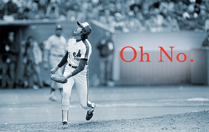 Steve Rogers' reaction to Rick Monday's 1981 NLCS home run