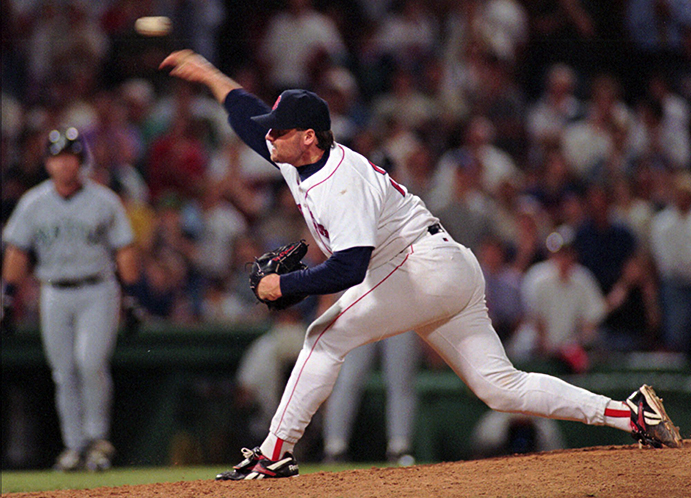 Roger Clemens' 20-K performance early in 1986