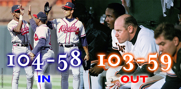 1993 Braves and Giants montage