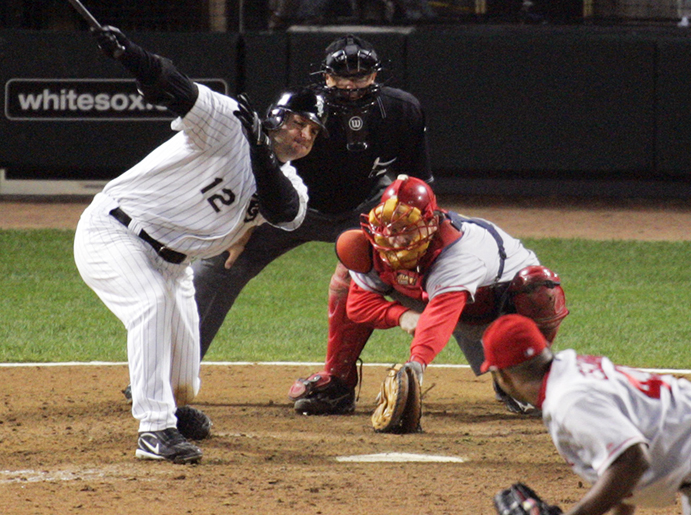 A.J. Pierzynski and the 2005 ALCS Passed Ball