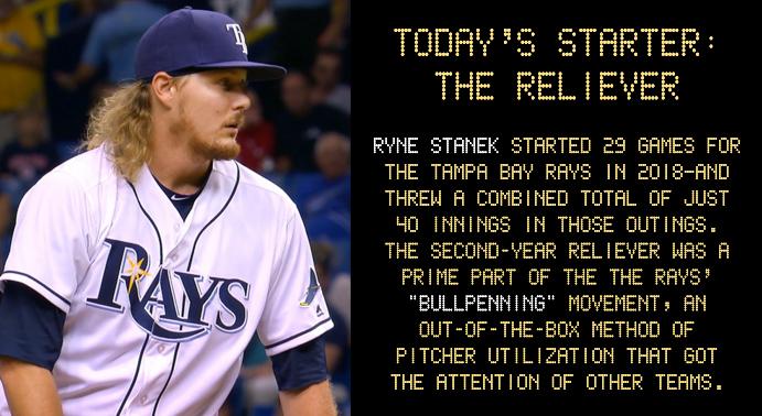 Tampa Bay Rays 'Opener' Ryne Stanek