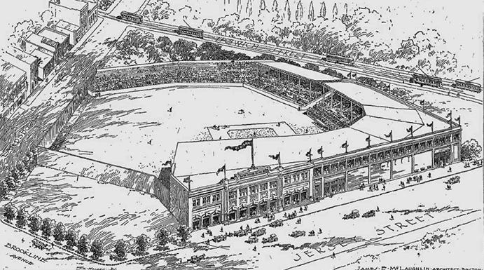 Fenway Park 1912 sketch