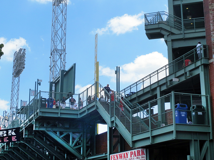 Fenway Park Stairs