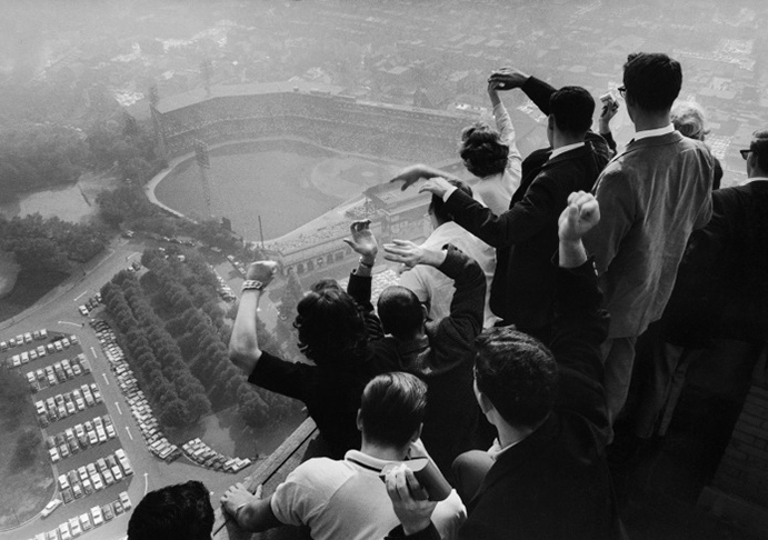 Forbes Field from Cathedral of Learning