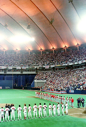 Metrodome Interior 1987 World Series