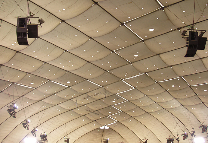 Metrodome ceiling