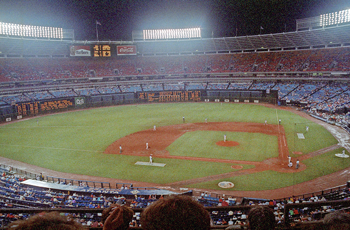 Atlanta Fulton County Stadium, July 4, 1985