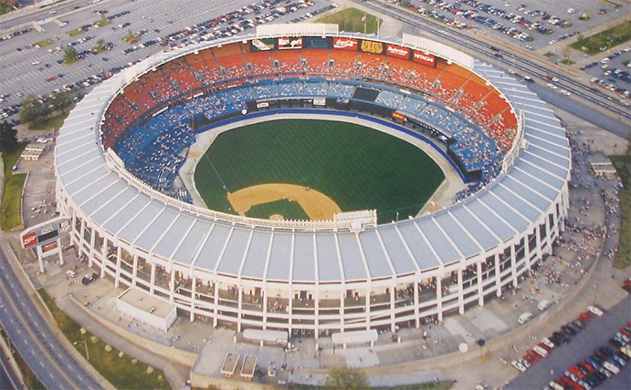 Atlanta Fulton County Stadium