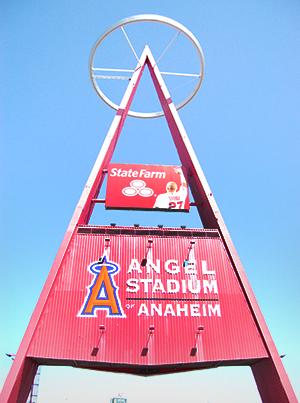 The Big A at Angel Stadium