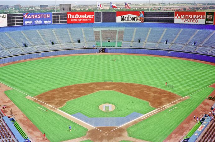 Arlington Stadium bleachers