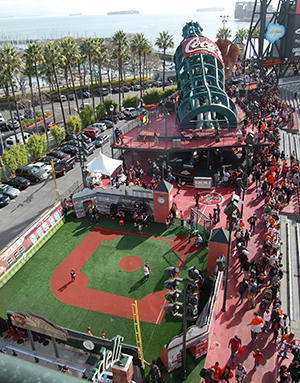 The Fan Lot at Oracle Park
