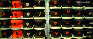 Caps at Giants Dugout Store