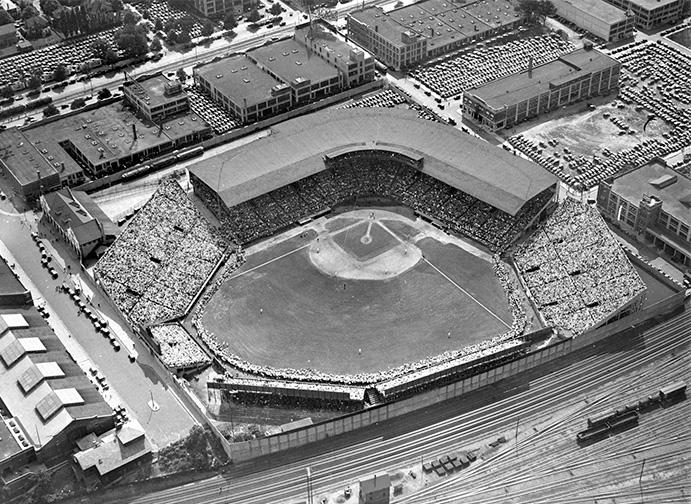Braves Field Aerial