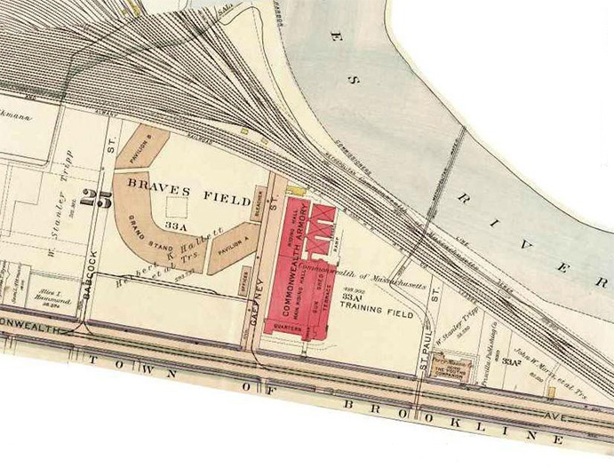 Layout Plan for Braves Field