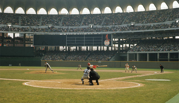 Busch Memorial Stadium, 1966
