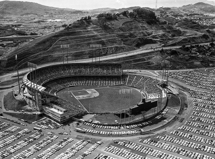 Candlestick Park in 1960