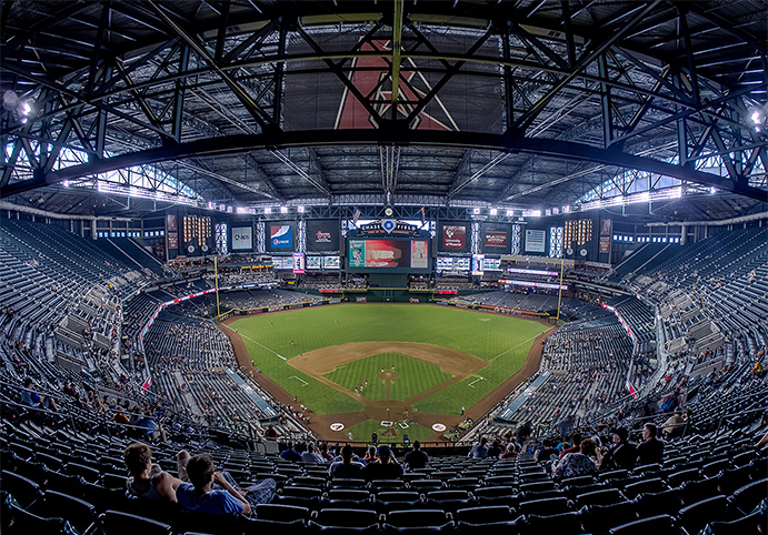 Chase Field Ceiling