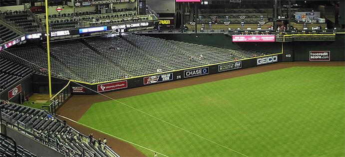 Chase Field Left Field Corner
