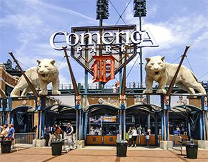 Comerica Park entrance