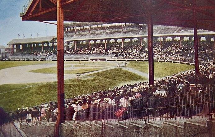 Comiskey Park 1911 Postcard