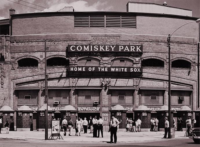 Comiskey Park Main Entry