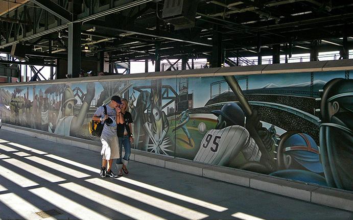 Coors Field Mural